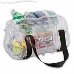 Transparent PVC Inflatable Cooler Bag, Inflatable Air Ice Bag