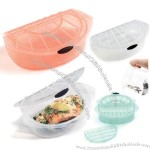 Transparent Silicone Steamer