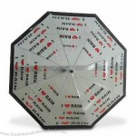 Transparent Umbrella with Zinc-coated Frame