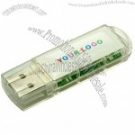 Transparent USB Flash Memory Stick