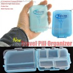 Travel Compact Pill Case Pill Box