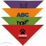 "Triangle Solid Design Promotional Bandanas - 14""w x 14""h"