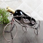 Tricycle single bottle wine rack