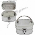 Trinket Box with Silver Plain ABS Surface