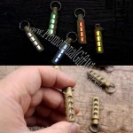 Tritium Nite Self-Luminous Pendant Keychain