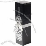 True Fabrications A Touch of Silver Wine Box