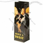 True Fabrications Have A Toast Wine Bag