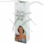 True Fabrications You Are What You Drink Wine Bag