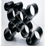 Tubes Like Black Assorted Acrylic Champagne Display Holder