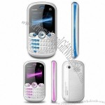TV Mobile Phone with Dual SIM Card, Quad Band WAP GPRS E-book and LED Torch