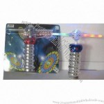 Two-color Musical and Flashing Stick