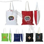 Two colors Cotton Tote Bag