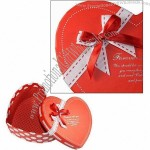 Two Pieces Heart Shape Rigid Boxes With 4C Printing