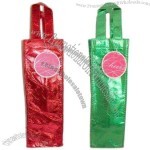 Two's Company - Merry and Bright Metallic Wine Bottle Gift Bag