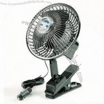 Two-Speed 12V Clip-on Car Fan