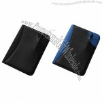 Two Tone Zipped Conference Folder