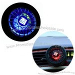 Tyre Shape Car Air-Refreshener with Perfume - Flash LED Logo by wind electric