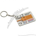 Tyre Tread Depth Gauge Key Ring