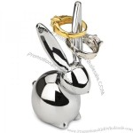 Umbra Zoola Bunny Ring Holder, Chrome
