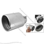 Universal Car Auto Rolled Edge Metal Exhaust Oval Tip
