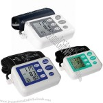 Upper Arm Blood Pressure Monitor, Includes 60-set Memory, with Date and Time, English Voice