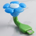 USB Aroma Flowers Air Purifier