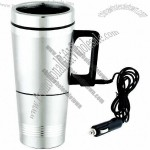 USB Double Wall Stainless Steel Travel Auto Mug