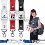 """USB flash drive is integrated into 15"""" lanyard"""