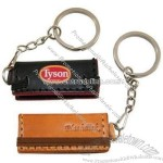 USB Flash Drive-Style Leather Case
