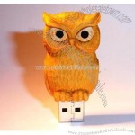 USB Flash Drive-Style Owl