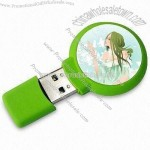 USB Flash Drive with Dome Stickers