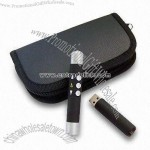 USB Flash Drive with Integrated RC Laser Pointer