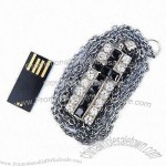 USB Flash Drive with Silkscreen Logo Printing and Waterproof Feature