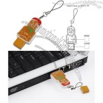 USB Mini People - Gingerbread Flash Drive