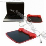 USB Mouse Pad With Speaker And USB HUB