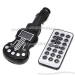 "USB/TF Card Car MP3 Player Guitar Shape with Wireless 1.0"" LCD Display"