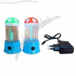 UVC Toothpick Holder Sterilizer with 1.0W Power Consumption and Lithium Battery