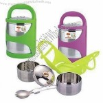 Vacuum Food Storage Container with Easy to Clean, Convenient to Carry to Everywhere, Double Layer