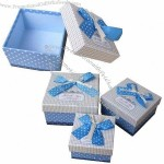 Valentine's Gift Boxes With Ribbon On Top