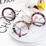 Variegated Round Glasses