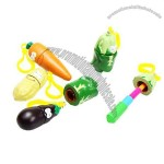 Vegetable Shape Stretchable Ballpoint pen Bag Charm Promotional Pen