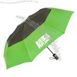 "Vented Graphite Crown 42"" arc auto-open Umbrella"
