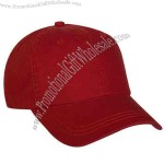 Vintage Red - Blank, 6-panel laundered fashion cap.