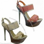 Wadge Shoes/Sandals with Upper PU Special Material