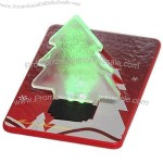 Wallet Card Pocket LED Light Lamp Christmas Tree
