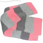 Warm 100%Acrylic Knit Yarn Scarf