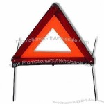 Warning Triangle Reflector with Fluorescent