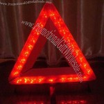 Warning Triangle with 27 Pieces LED Lights