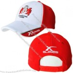 Washed Baseball Cap with Applique Metal Plate
