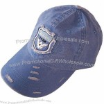 Washed Cap With Grunge Look